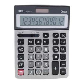 DELI Αριθμομηχανή 12 Ψηφίων DL-1616