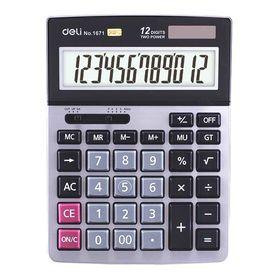 DELI Αριθμομηχανή 12 Ψηφίων No. 1671