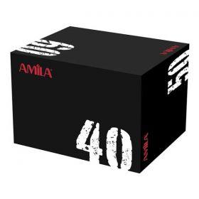 Amila Πλειομετρικό Κουτί με Μαλακή Επιφάνεια 40x50x60