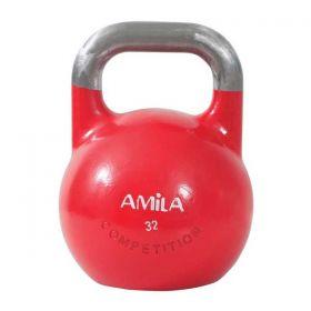 Amila Kettlebell Aγωνιστικό 32kg Κόκκινο