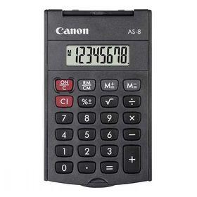 Αριθμομηχανή τσέπης 8 Ψηφίων AS-8 Canon
