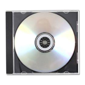 Θήκη για CD-DVD Πλαστική Διπλή