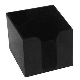 Κύβος Σημειώσεων Πλαστικός Μαύρος