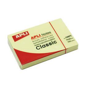 APLI Αυτοκόλλητα Χαρτάκια 75x50mm