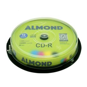 Almond CD-R 700mb 80min 52x 10τμχ