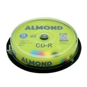 Almond CD-R 700mb 80min 52x 10τμχ
