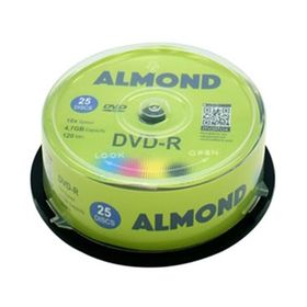 Almond CD-R 700mb 80min 52x 25τμχ