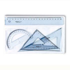 Arda Σετ Χάρακας 20cm 4 τεμαχίων