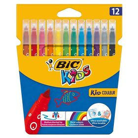 Bic Μαρκαδόροι Kid Couleur 12τμχ