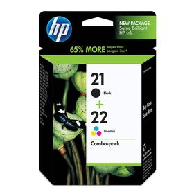 Hp Μελάνι SD367AE N.21 & 22 Combo Pack
