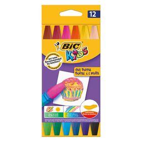 Λαδοπαστέλ Bic Kids Oil Pastel 12τμχ