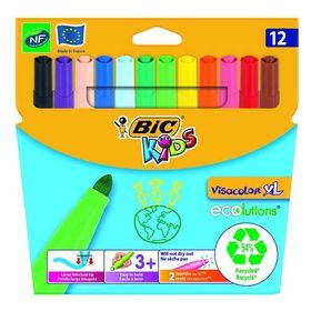 Μαρκαδόροι Bic Kids Visacolor XL Ecolutions 12