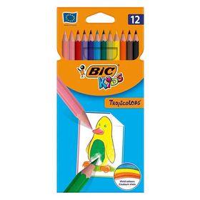 Ξυλομπογιές Bic Kids Tropicolors 12τμχ