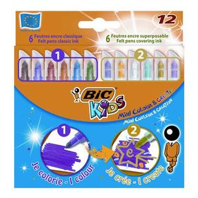 Bic Μαρκαδόροι Mini Colour & Create