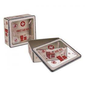 Κουτί πρώτων Βοηθειών Μεταλλικό Y8,7x23x22εκ.