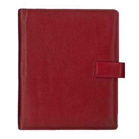 Δερμάτινο Σημειωματάριο Κόκκινο