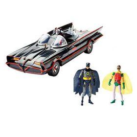 Αυτοκίνητο Batmobile με 2 Επετειακές Φιγούρες Batman & Robin