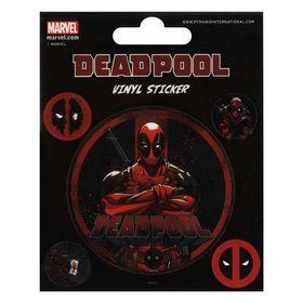 Αυτοκόλλητα 10x12.5εκ Deadpool