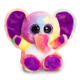 Λούτρινα 15εκ Animotsu Ελέφαντας Πολύχρωμος