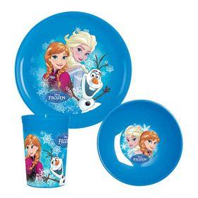 Παιδικό Σετ 3τεμ Frozen Snow Flakes