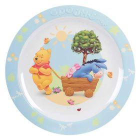 Πιάτο Μελαμίνης με Ανάγλυφο Winnie The Pooh