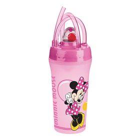 Ποτήρι με Καλαμάκι Minnie Bubbles
