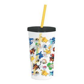 Ποτήρι Pokemon με Καλαμάκι