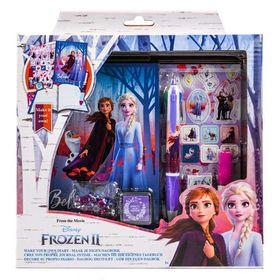 Σετ Ημερολόγιο με Στάμπες και Στυλό Frozen 2
