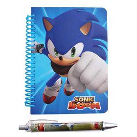 Σετ Σημειωματάριο & Στυλό Sonic Boom (2 Σχέδια)