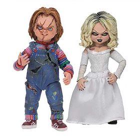 Σετ Φιγούρων 18εκ Ultimate Chucky and Tiffany