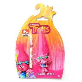 Σετ 3-D Σβήστρα Poppy και Μολύβι Trolls