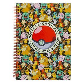 Σημειωματάριο Α5 Pokemon