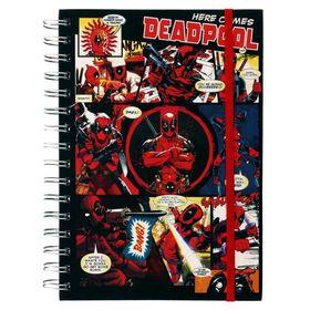 Σημειωματάριο Σπιράλ Α5 Deadpool