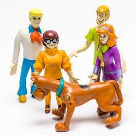Φιγούρες Σετ 5τεμ Scooby Doo