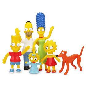 Φιγούρες Σετ 6τμχ Simpsons Family