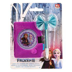 Hμερολόγιο Λούτρινο με Στυλό Frozen 2