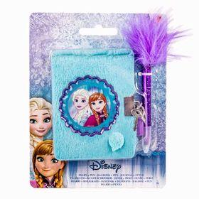 Hμερολόγιο Λούτρινο με Στυλό Frozen