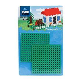 Plus Plus Βάση για Τουβλάκια 12x12εκ 2τεμ Πράσινο