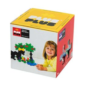 Plus Plus Τουβλάκια Μεγάλα σε Κουτί 100τεμ Basic