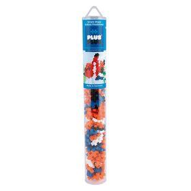 Plus Plus Τουβλάκια σε Σωλήνα 100τεμ Clownfish