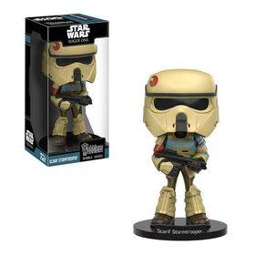 Funko Φιγούρα Wobbler Scarif Stormtrooper (Star Wars: Rogue One)