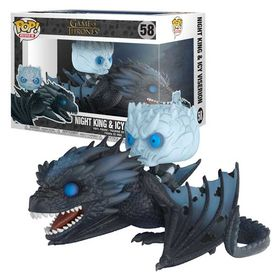 POP Σετ Φιγούρες Night King & Icy Viserion (Game of Thrones)