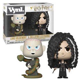 Vynl Σετ Φιγούρες Voldemort & Bellatrix (Harry Potter)