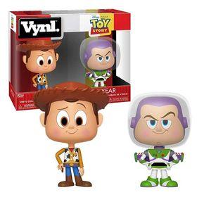 Vynl Σετ Φιγούρες Woody + Buzz Lightyear (Toy Story)