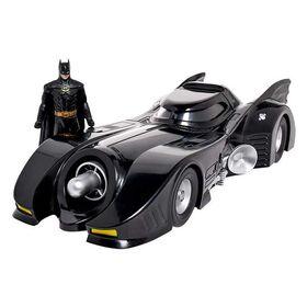 Αυτοκίνητο Batmobile με Φιγούρα 8εκ Batman (Batman 1989)