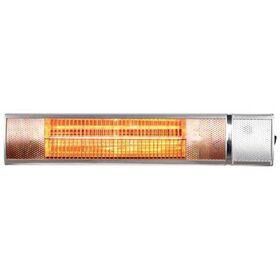Θερμάστρα Τοίχου με Golden Tube Eurolamp 2000W με Τηλεκοντρόλ