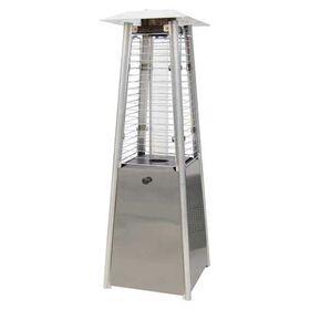 Θερμάστρα Υγραερίου Πύργος Mini 89εκ. Eurolamp 3KW Inox