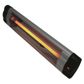 Θερμάστρα Χαλαζία Επιτοίχια με Τηλεχειριστήριο Eurolamp 2000W IPX0