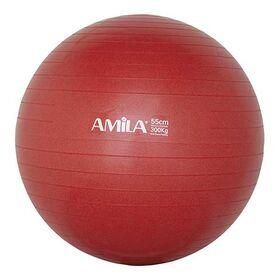 Μπάλα Γυμναστικής Amila Anti-Burst 55εκ. Κόκκινη