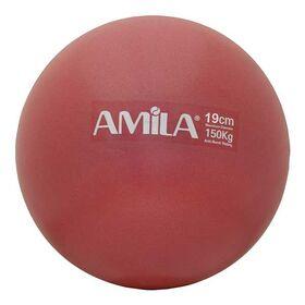 Μπάλα Πιλάτες Υψηλής Αντοχής Amila 19εκ. Κόκκινη
